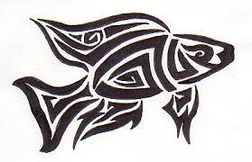 tribal fish by greenheethar on deviantart