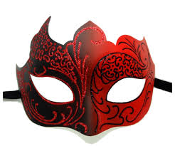 masquerade mask glitter masquerade mask in and black