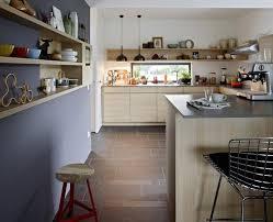 schner wohnen kchen möbel accessoires textilien praktischer tresen in der küche