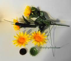 Fake Sunflowers Www Cheriesforgetmenots Com Canadian Bottle Company Box And Flowers