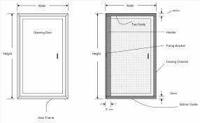 door size u0026 easislide op3 oak latina flush sliding door system in