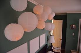 create a fun u0026 whimsical wall installation with paper lanterns