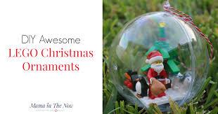 diy awesome lego ornaments