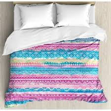 blue tie dye comforter wayfair