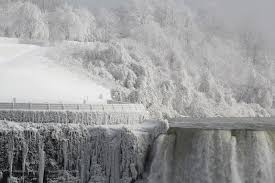 frozen niagara falls thebruenns photo weather underground
