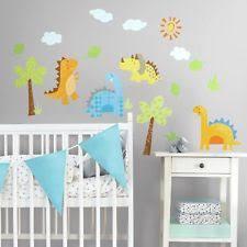 Dinosaur Nursery Decor Dinosaur Boys Bedroom Playroom Décor Ebay