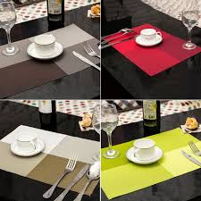 napperon de cuisine 1 pc table tapis cuisine sets de table à manger étanche napperon 7