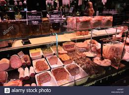 cours cuisine bocuse pate counter at les halles de lyon paul bocuse stock photo