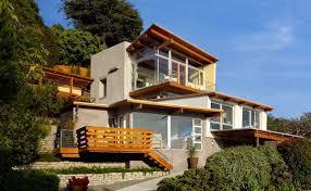hill slope house design house interior