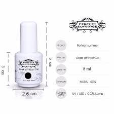 aliexpress com buy perfect summer gel nail polish 4 piece uv led