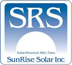sunrise solar the original solar powered attic fan