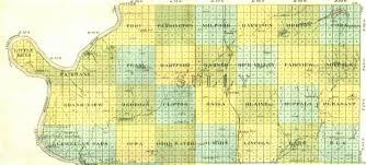 Sd Map Grandview Township Sully County South Dakota