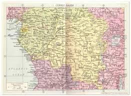Congo River Map The Horrible Jameson Affair