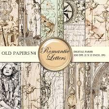 digital paper pack digital scrapbook background paper vintage