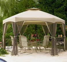 patio furniture gazebo garden allen roth gazebo for modern pergola design ideas