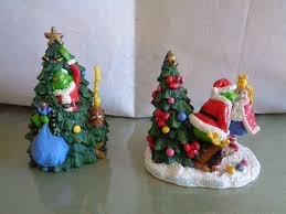 Universal Studios Christmas Ornaments - 2000 universal studio how the grinch stole christmas figurine rare