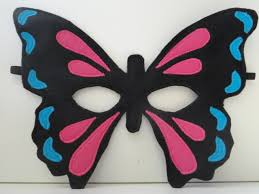 design your own butterfly mask