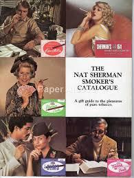 nat sherman 1970s vintage original smoker u0027s catalog new york fine