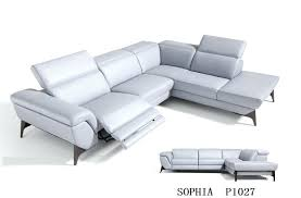 flexsteel power reclining leather sofa sofas recliner dfs electric