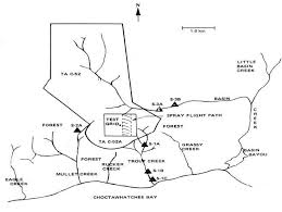 eglin afb map 39 map of test area c 52a and adjoining area of the eglin afb