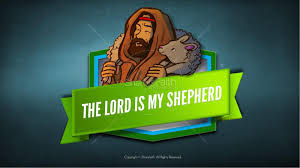 psalm 23 the lord is my shepherd sunday coloring pages