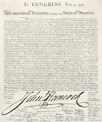 john hancock u0027s declaration of independence signature was it too big