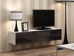 Wohnzimmerschrank F Kleidung Bmf Vigo Tv Wandschrank Schwebend Montierbar Hochglanz