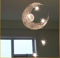 Children Bedroom Lighting Led G4 Light Source Moon Modern Children Kid Child