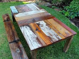 Reclaimed Wood Benches For Sale Reclaimed Wood Outdoor Table Gccourt House