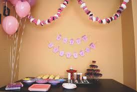 home decorative ideas creative simple birthday decoration ideas at home home design new