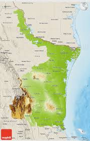 Mexico Physical Map by Physical 3d Map Of Tamaulipas Shaded Relief Outside