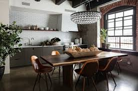 cuisine taupe et bois cuisine facade cuisine taupe carrelage mur blanc table et chaises