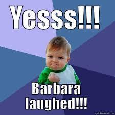 Barbara Meme - man utd fans right now quickmeme