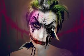 Joker Halloween Make Up The Last Joke By Keevanski