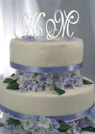 monogram wedding cake topper monogram wedding cake topper by cakes by donna dot ipunya