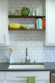 Kitchen Cabinets Open Shelving In The Mix 20 Kitchens With A Combination Of Cabinets And Open