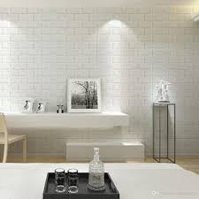 wallpapers for home decoration 60x60cm 3d brick design pe foam decocrative removable wall sticker