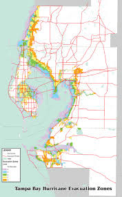 Tampa Bay Zip Code Map by Tbrpc Emergency Management Tampa Bay Prepares