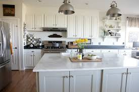 White Paint Kitchen Cabinets Creative With Chalk Paint On Kitchen Cabinets Thediapercake Home