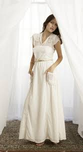relaxed wedding dress inspired by the anatomy of a grey and shepherd wedding casual