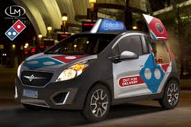 chevy vehicles this is what domino u0027s future fleet of chevy spark pizza delivery