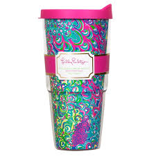 Lilly Pulitzer Rug Lilly Pulitzer Lilly U0027s Lagoon Insulated Tumbler With Lid
