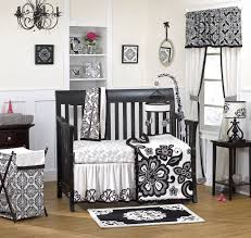 Black And White Crib Bedding Set Black And White Baby Bedding 17645