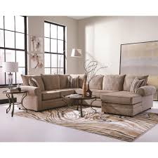 coaster fairhaven cream colored u shaped sectional with chaise