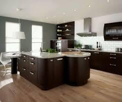 minimalist modern kitchen with wall mounted cabinets renovate