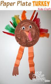 turkey plate craft plate turkey kids craft