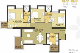 Apartment Floor Plan Philippines Pioneer Pioneer Park Ph 1 In Sector 61 Gurgaon Flats For Sale