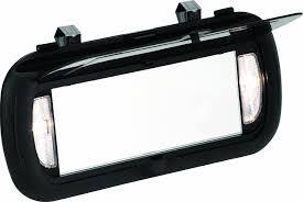 clip on visor light amazon com bell automotive 22 1 00449 8 large lighted visor mirror
