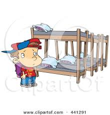 Cartoon Bunk Bed by Royalty Free Rf Bunk Bed Clipart Illustrations Vector Graphics 1