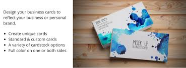 Standard Business Card Format Commercial Press Local Printing U0026 Copying In Canton Potsdam